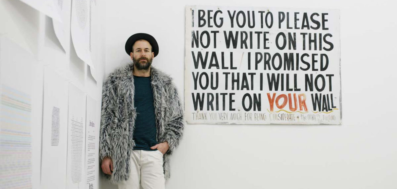 Kenneth Goldsmith, Street poets and visionaries, Mercer Union, Toronto, 2009