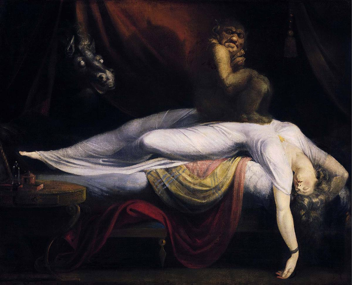 John Henry Fuseli, the nightmare